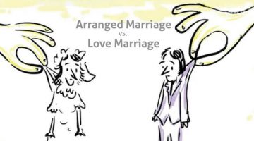 Love Marriage Vs Arranged Marriage in India